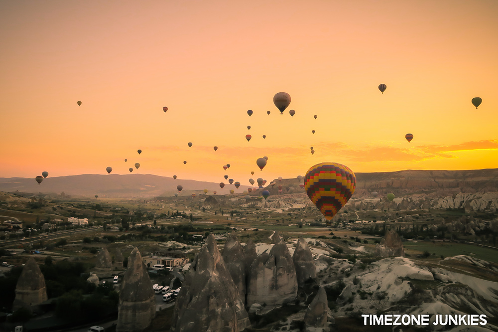 hot air balloon tour turkey